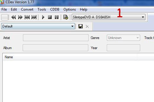 cdex prima schermata