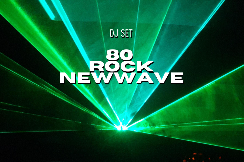 Dj set megamix rock e new wave 80s